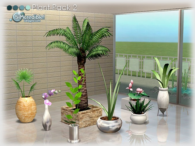 Good Plants Pack At Simcredible Designs 4 Sims 4 Updates
