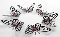 MyDreamDecors  Black Butterflies,Butterfly wall...