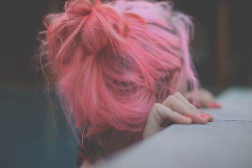 dyed hair on Tumblr