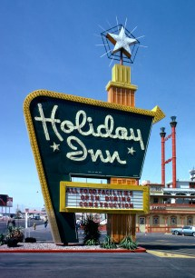 Vintage Las Vegas Holiday Inn Sign Center Of