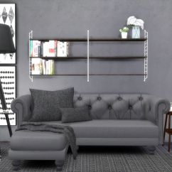 Corner Sofa Couches Sure Fit Scroll T Cushion Slipcover Hvikis - Lisen's String Shelf, Converted By The Lovely...