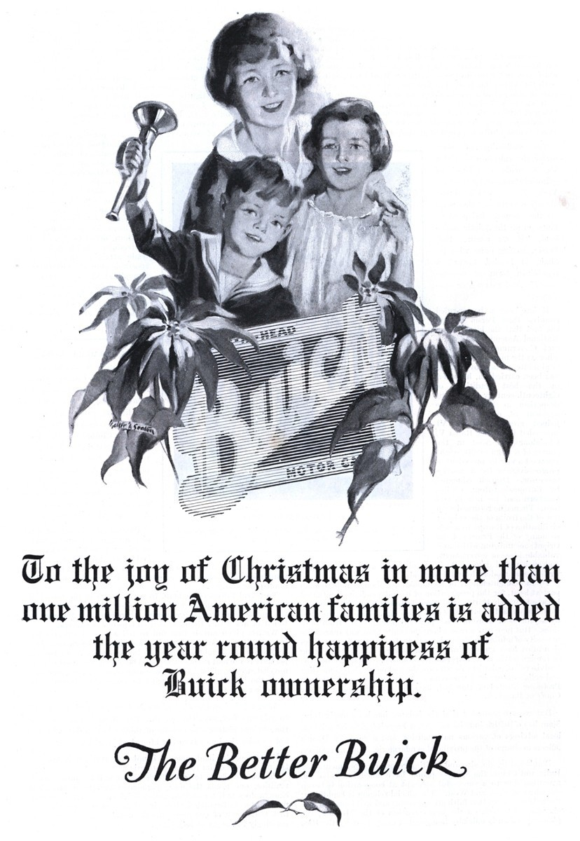 Buick - published in The Literary Digest - December 19, 1925