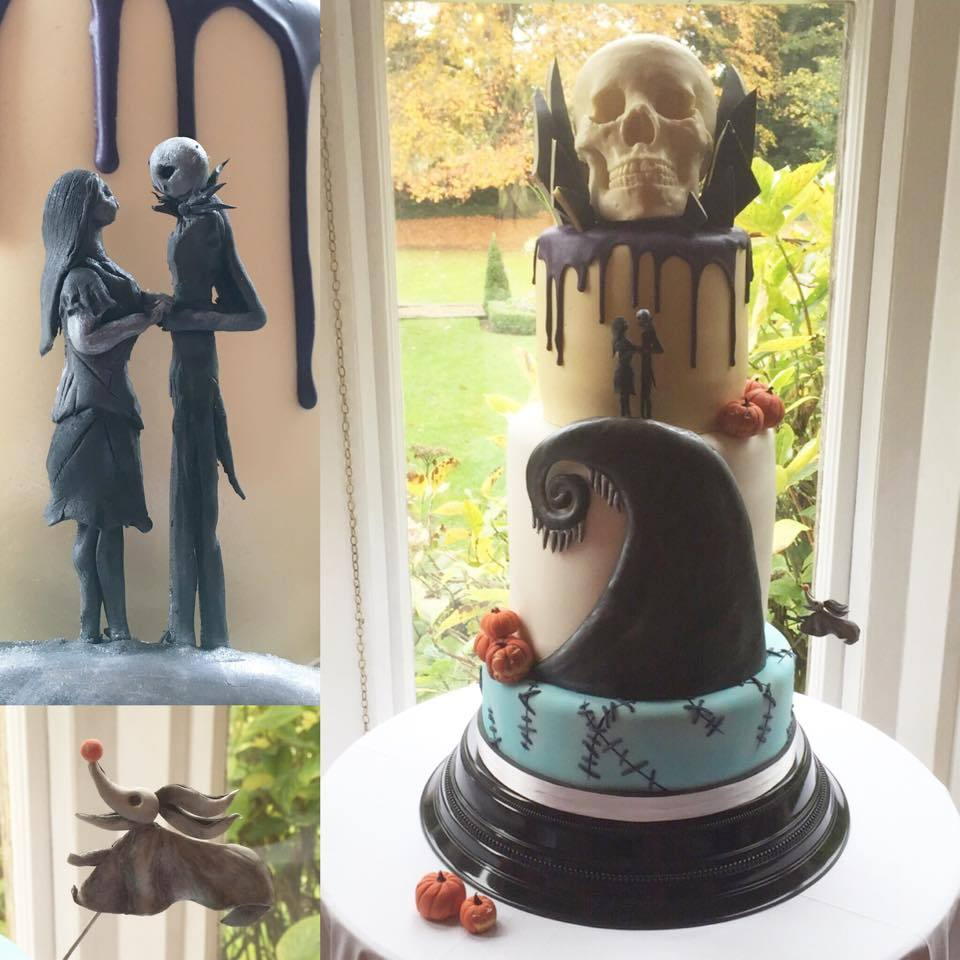 "misfitwedding: "" A marvellous piece of edible art by the Tattooed Bakers """