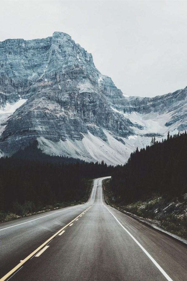 Tumblr Winter Mountain Roads