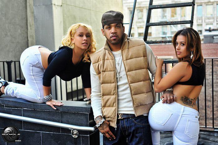 Hip Guy Rapper Hop