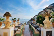 Hillside Champagne Bar In Positano Eating Italy