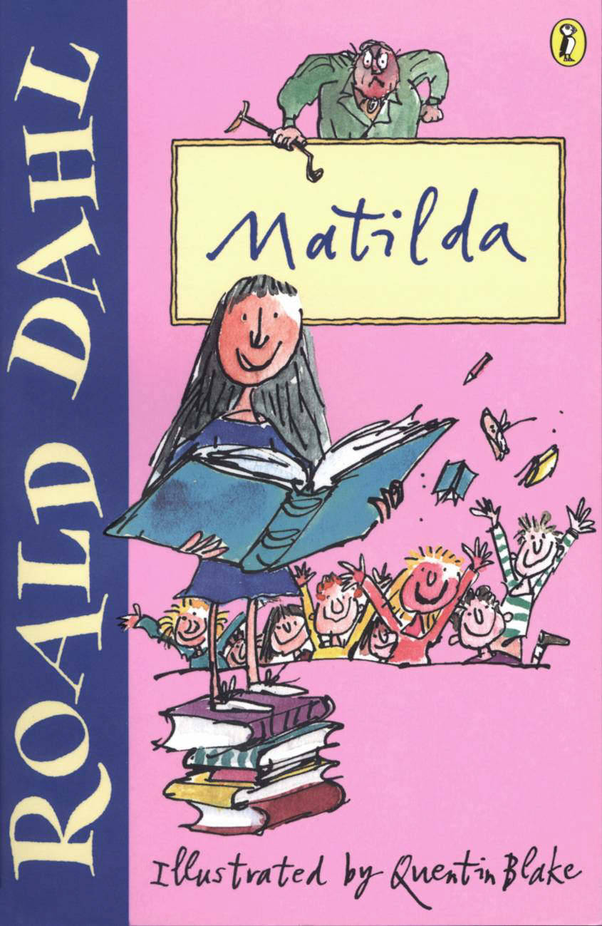Image result for matilda book cover