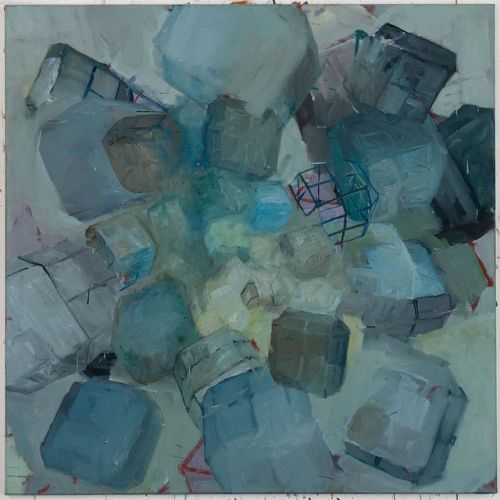(Oldies But Goodies) SOG, 120 x 120 cm, Öl/Alkyd-Pigmente, 2013, #finalstate #oiloncanvas #oilpainting #instaart #painting #grid #contemporaryart #peinture #fineart #berlinart #christophkern #malerei #contemporarypainting