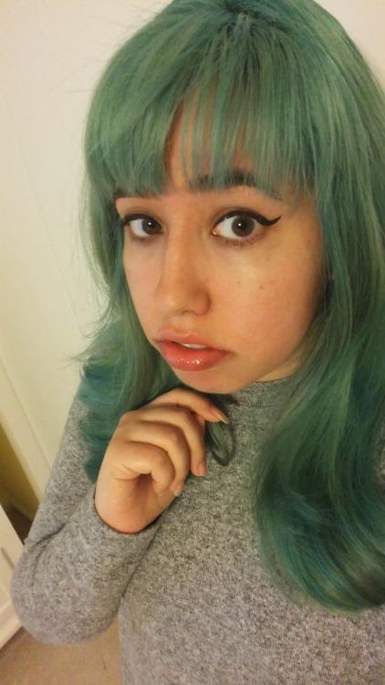Cute Face Girl Wallpaper Mint Hair Tumblr