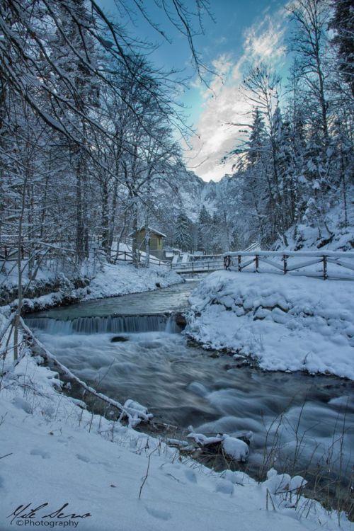 paesaggio invernale  Tumblr