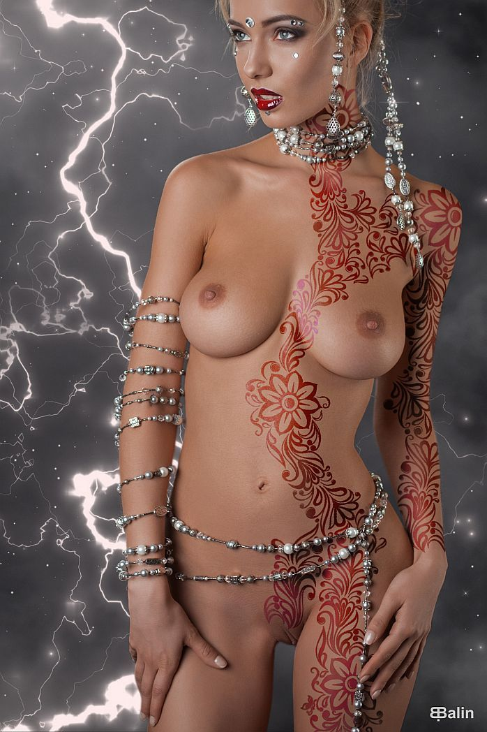 Tumblr nude bodypainting Bodypainted adventures