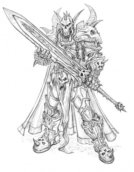 The Concept Art Library — Warcraft (Blizzard)- Death