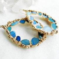 hoop earrings on Tumblr