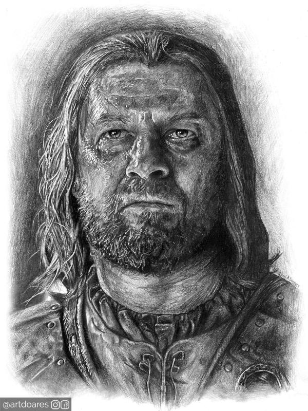 Eddard Stark Drawing