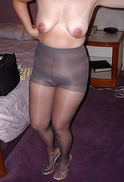In pantyhose wife How I