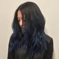 Hair By Choi.Ce  These navy blue nights #hair #haircolor ...