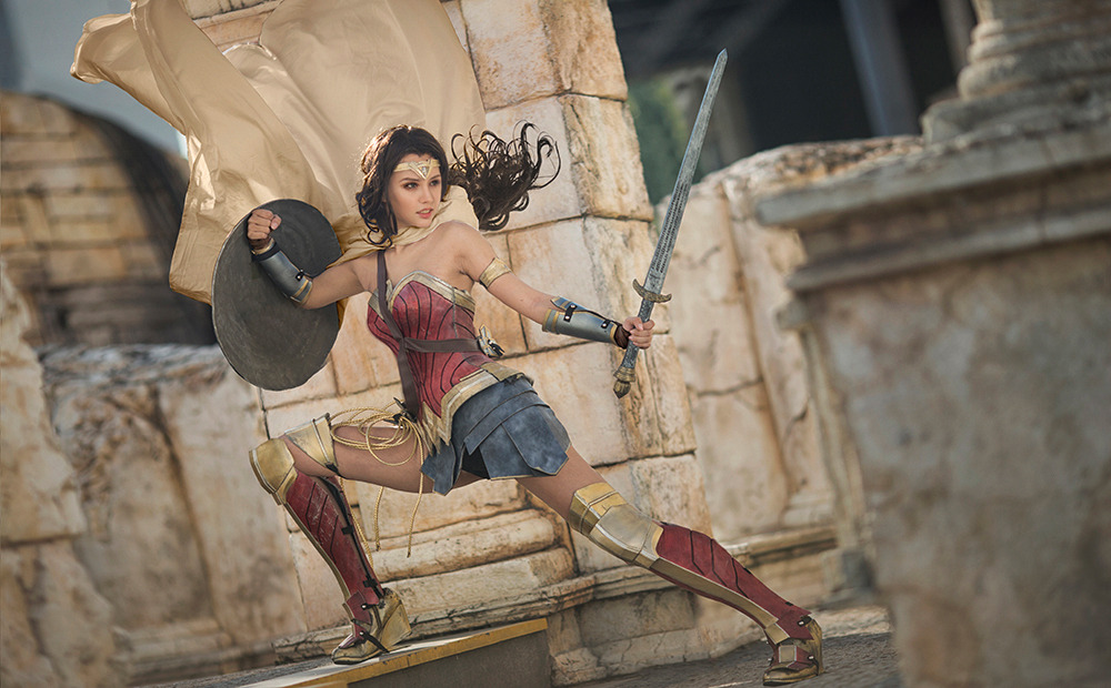 DC Wonder Woman Dinana Prince by kilory  Check out http://hotcosplaychicks.tumblr.com for more awesome cosplay