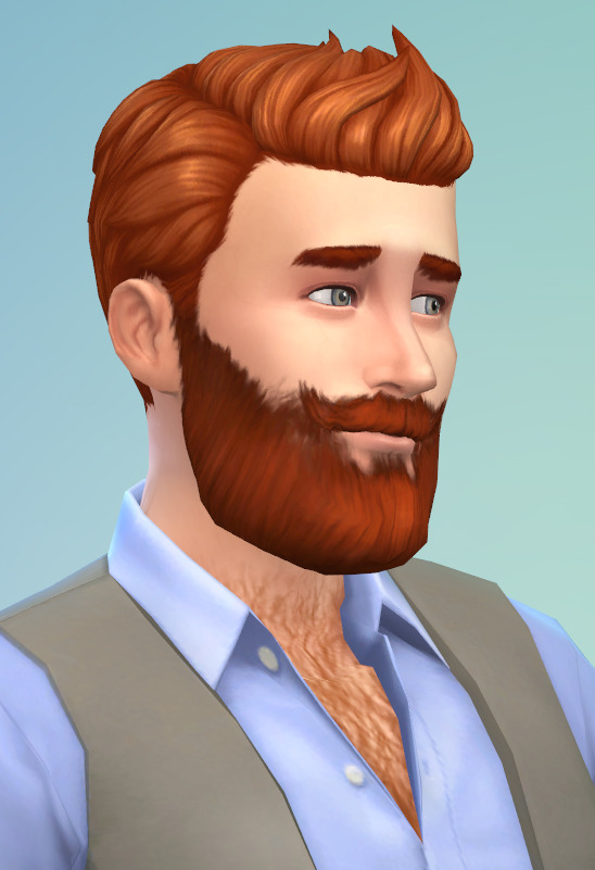 Castorsims Sims 4 Gentleman Full Beard There Is This