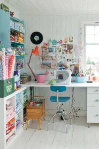 Craft Room Ideas for Small Spaces | Apartment ...