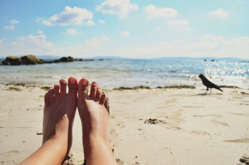 Image result for tumblr feet beach