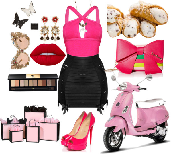 Milan moment by lucilxlu featuring gold jewelry