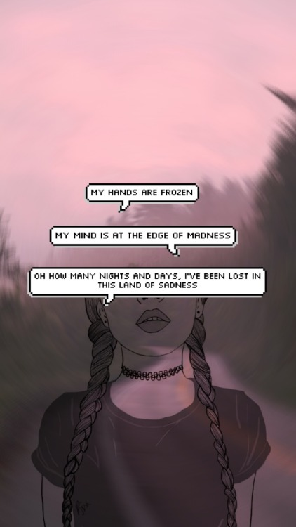 Computer Lock Screen Wallpapers Girls Grunge Girl Overlay Tumblr