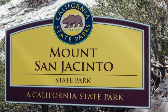 Mount Jacinto State park, Palm Springs getaway