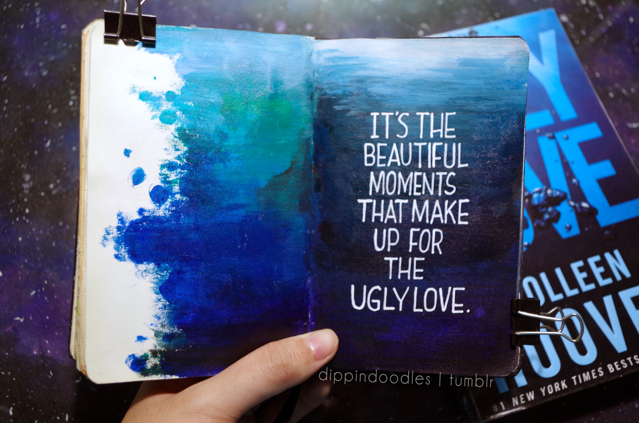 Quote from Ugly Love (Colleen Hoover) Xx Note: So I finally organized my tags for easier access to everything i post! go check it out :)