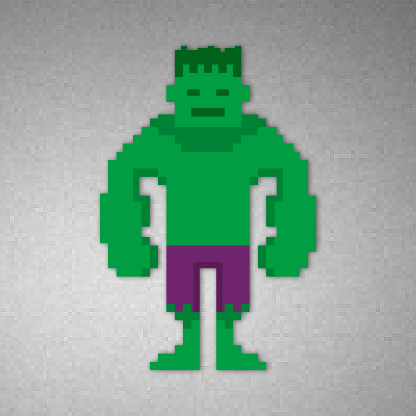 It8Bit Pixel Art Marvel Heroes Created By ChunChew Pon