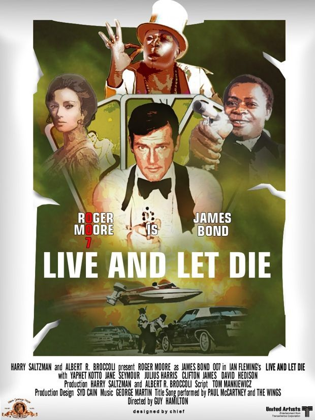 To Live And Let Die : James, Thrills, Sheer, Magnetism