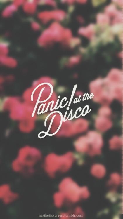 Fall Out Boy Logo Wallpaper Panic At The Disco Logo Tumblr