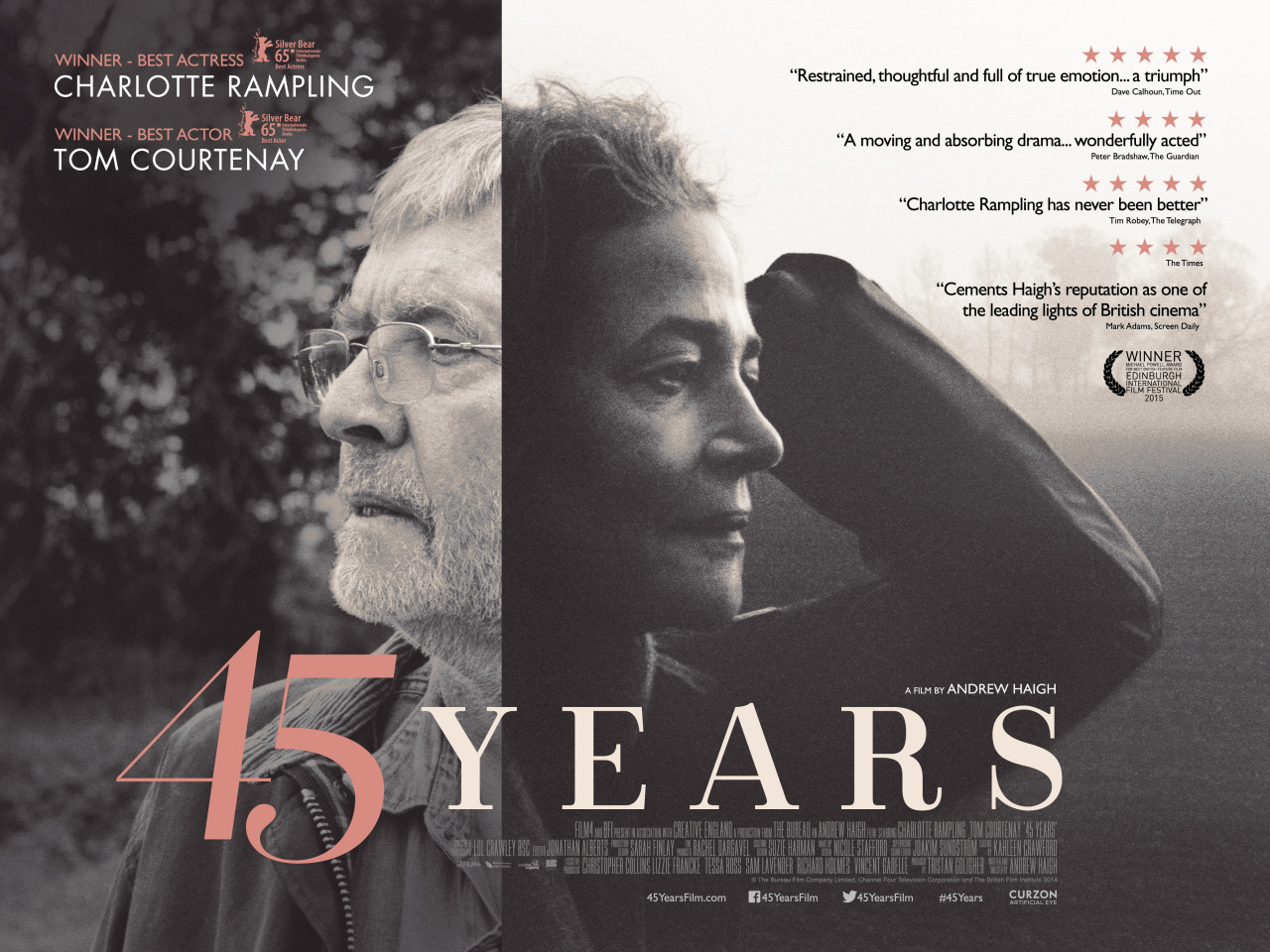 Risultati immagini per 45 years film