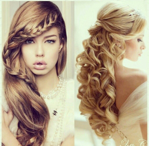 Prom Hair Styles For Long Hair Tumblr