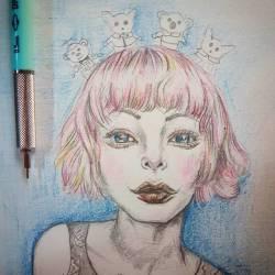 Big ol' girl crushn on a favourite artist. @mabgraves #draftpencils #draftmatic #mechanicalpencils #draw #perthcreatives #perthartist #illustration #artworks #perthstagram #doodle #sketch #gasbombgirl #visualart #waart #perthcreates #perthartscene #pulp #perthpop #fanart