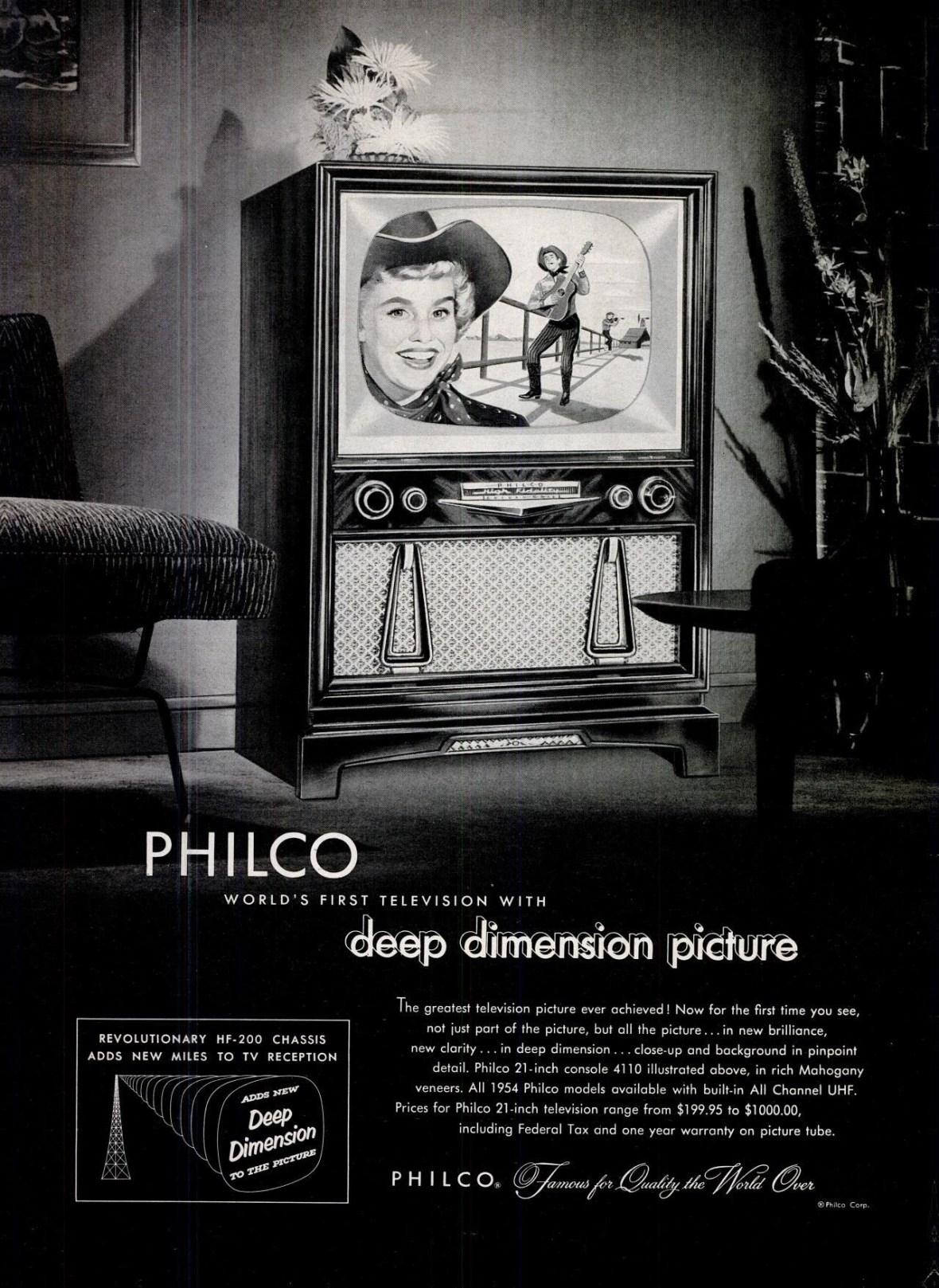 Philco - 1954