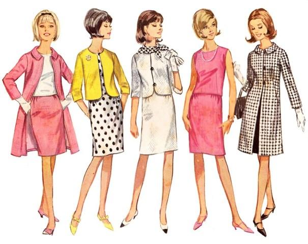 b273ecf0eec 1960s fashion illustration – Vintage Stuff