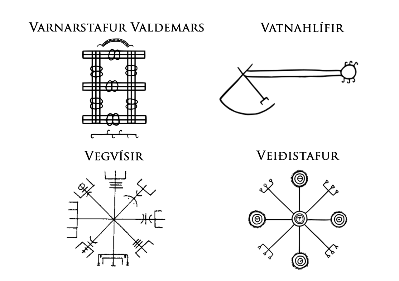 Icelandic Magical Staves Are Symbols Credited With