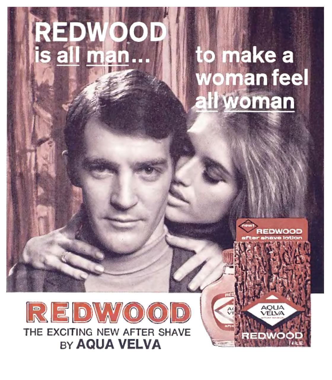 Aqua Velva Redwood - 1968