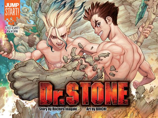 Image result for dr stone manga
