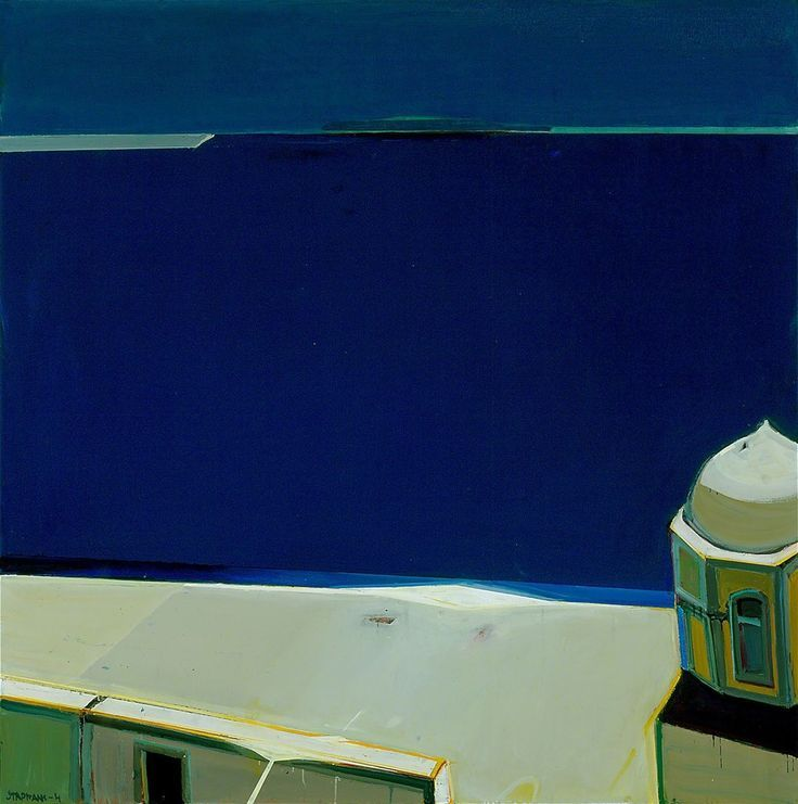 "terminusantequem: ""Raimonds Staprans (Latvian/American, b. 1926), Naxos #6, 2003. Oil on canvas, 50 x 50 in. (127 x 127 cm.) """