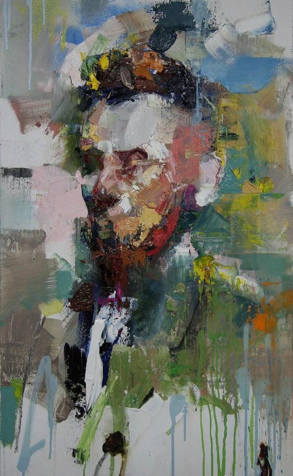 Supersonic Art Ryan Hewett Paintings. Portraits Of Historical