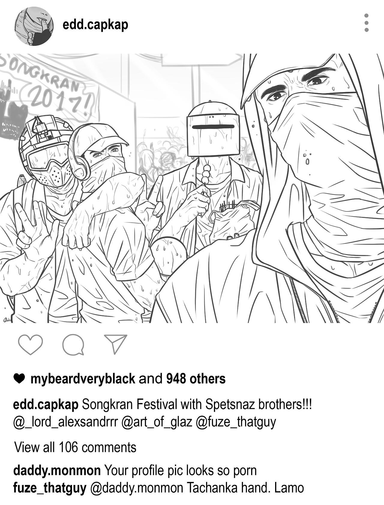 Tachanka R6s Tumblr Sketch Coloring Page