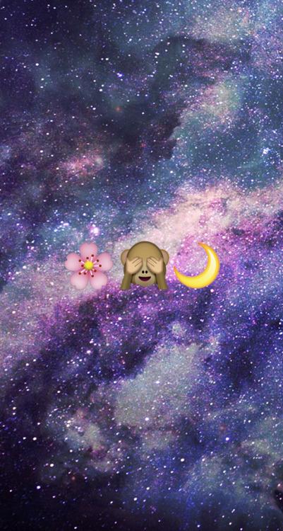 Cute Monkey Emoji Wallpaper Emoji Black Moon Tumblr
