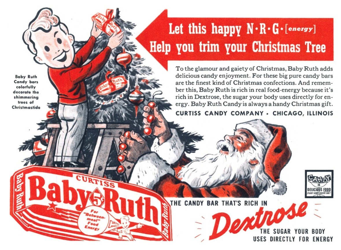Curtiss Candy Company Baby Ruth - published in Liberty - December 23, 1939