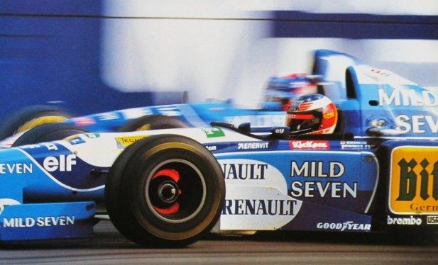 Resultado de imagen de Benetton B195 de Michael Schumacher