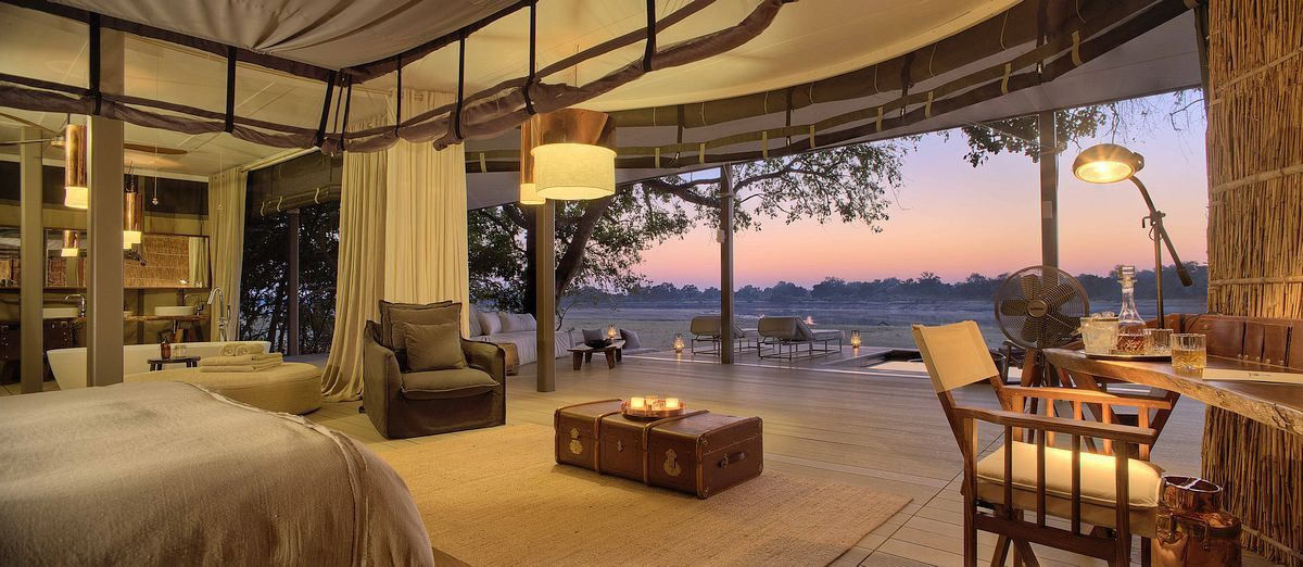 Chinzombo Safari Camp Nestled in 60 acres of  Luxury