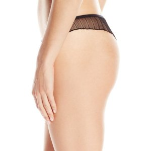Women's Emma Thong. This sweet and sexy flutter thong combines lace and pleated mesh. , July 02, 2017 at 03:32PM