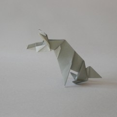 Origami Wolf Instructions Diagram 1987 Mazda B2200 Wiring Foldaway  Each Model Is Folded From A Single