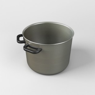 uncomfortable pot © 2012 Katerina Kamprani - all rights reserved