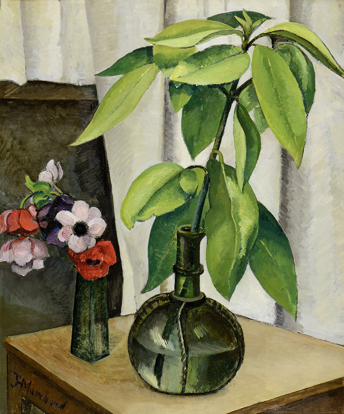 "thunderstruck9: ""Jean Marchand (French, 1883-1940), Nature morte [Still Life]. Oil on canvas, 65 x 54 cm. """
